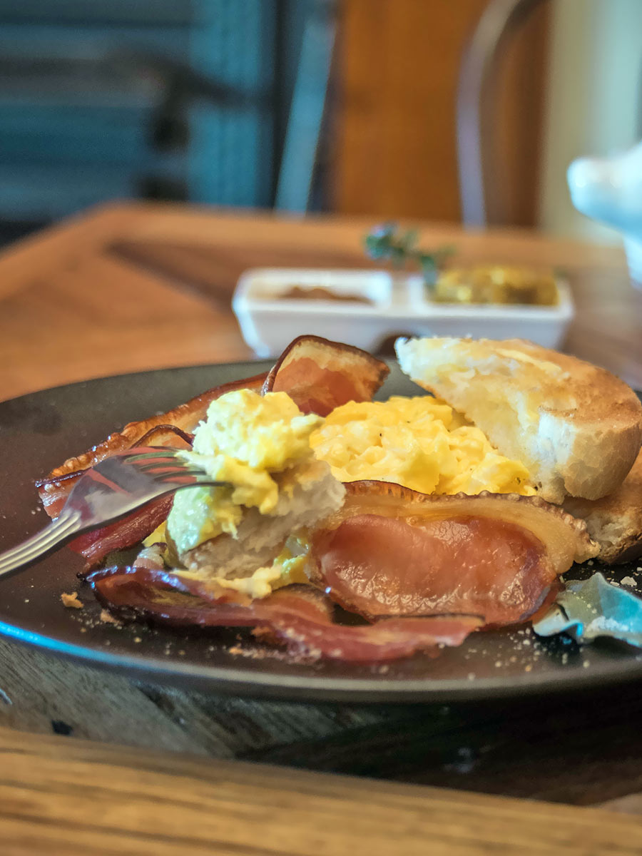glencoe country b&b - gorgeous cooked breakfast
