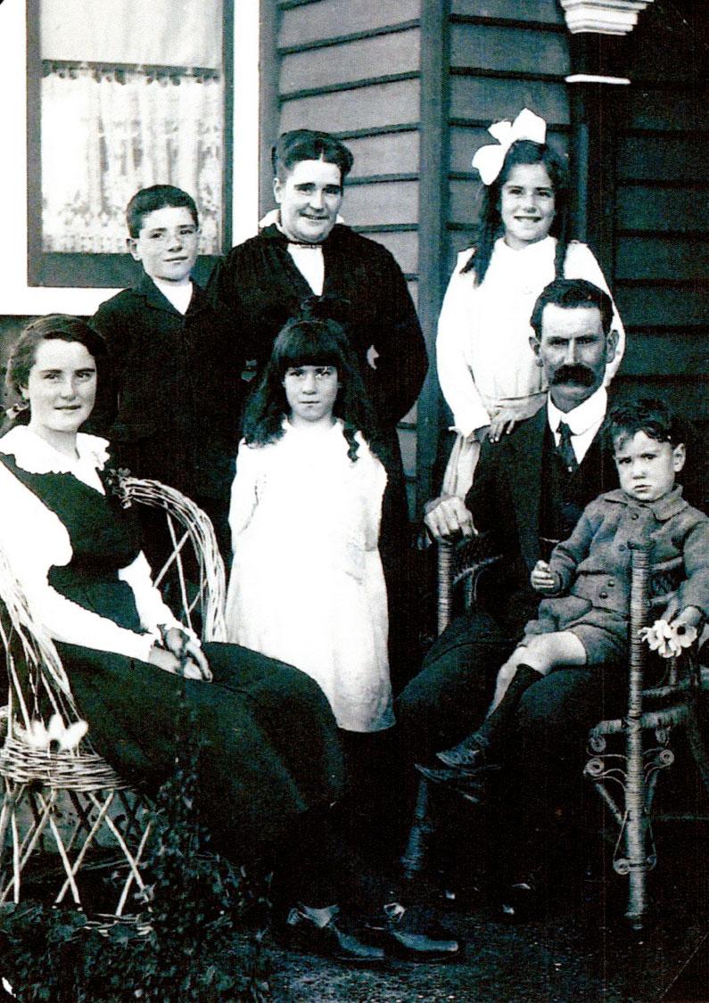 Newman Family Barrington Tasmania