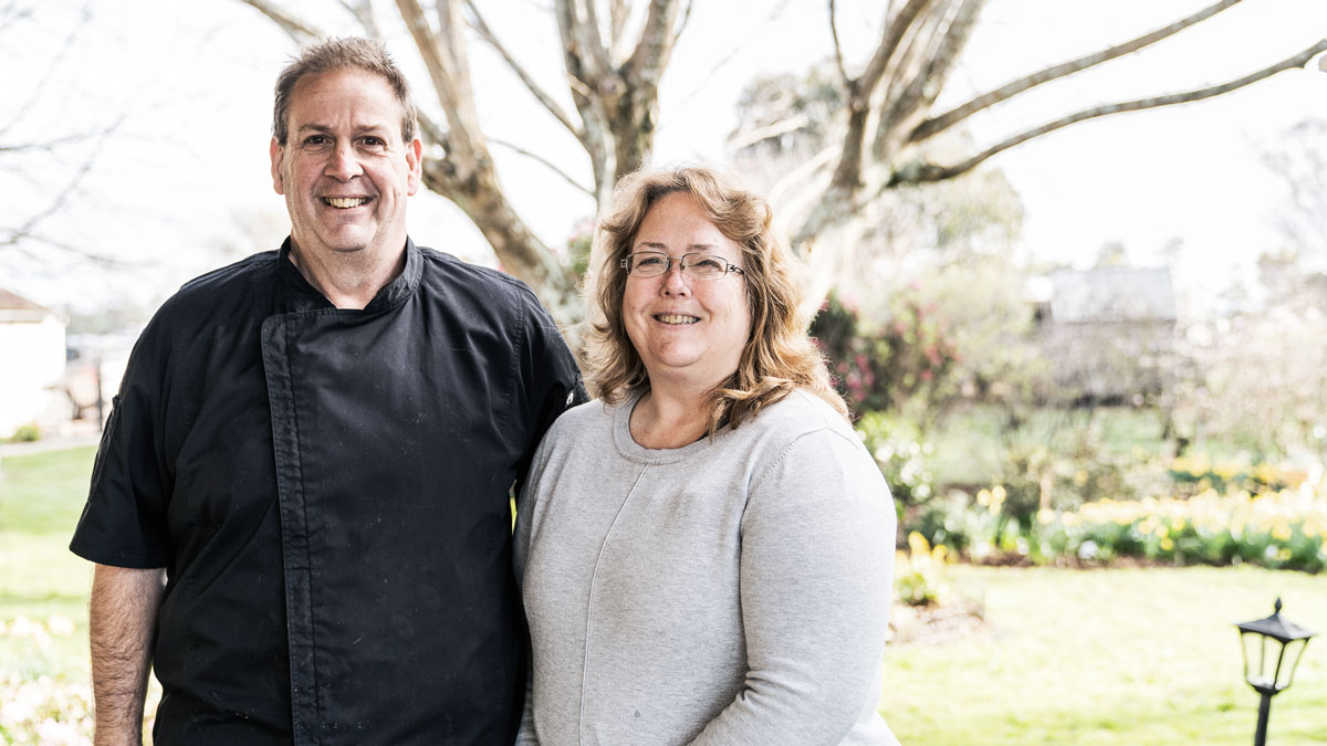 meet the owners - russell and irene