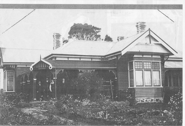 b and b cradle mountain - Glencoe house in the 1920s